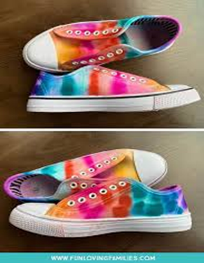 Bring colors to your shoes!