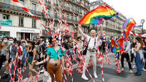 Our pride is political': Thousands march in Paris for LGBT rights